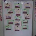 «Тортик для друга»— аппликация из цветной бумаги.