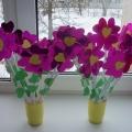 Цветочек-валентинка