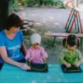 Использование ниткографии в работе с малышами