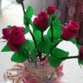 Квиллинг— розы, мастер-класс.