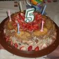 Торт без выпечки с глазированными сырками