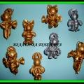 Ангелочки. Сувениры из макарон