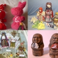 Декоративное искусство народов севера «Поморские козули»