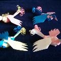 Плетеные птички.
