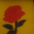 Роза в подарок маме…