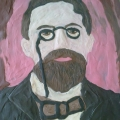 Художественное творчество (рисование пластилином): «Портрет А. П. Чехова»
