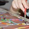«Манные картины». Нетрадиционные техники рисования