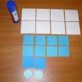 Снежинки из бумаги (оригами)