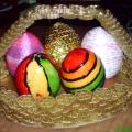 Работы участников кружка «Разноцветная фантазия» к Пасхе