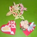 «Валентинки, валентинки, валентиночки» (творческие работы детей подготовительной группы)