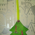 Подарок Деду Морозу (аппликация)