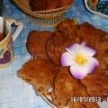 Фруктовое печенье с халвой.