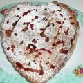 Пирог «Вишня под снегом»