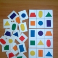 Игры с геометрическими фигурами: «Вкладыши». «Назови фигуру».