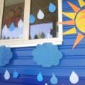 Летний праздник в детском саду «Праздник под дождём» (для всех групп)