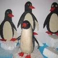 Пластилиновые пингвины