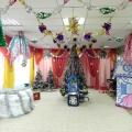 Украшение новогоднего зала