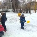 Зимняя сказка на нашем участке