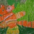 «Рисуем кошек, котов и котят». Работы детей 4–6 лет