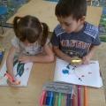 Непосредственная образовательная деятельность с детьми старшего дошкольного возраста «Весенняя радость»
