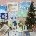 Оформление тематической выставки с методическими рекомендациями для воспитателей к Новому году.