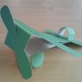Конструирование из бумаги «Самолет»