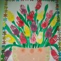 Рисование ладошками и пальчиками.
