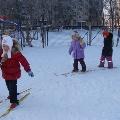 Спортивный праздник для детей старших и подготовительных к школе групп «Лыжня России 2012 года».