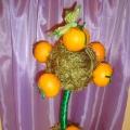 Выставка семейных поделок «Апельсиновая сказка»