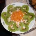 Салат из киви. Рецепт