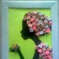 Женщина из роз