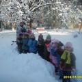 Фотоотчет о зимней прогулке.
