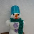 Выставка снеговичков