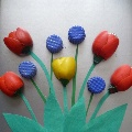 Тюльпаны в подарок.