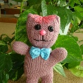 «Котенок» из перчатки
