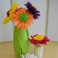 Презентация мастер-класса «Букет цветов, выполненный в технике «торцевание на пластилине».