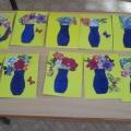 Подарок на международный женский день для любимой мамочки «Ваза с цветами» (старшая группа)