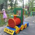 Территория детства— 2013. Опыт благоустройства площадки для прогулок детей раннего возраста