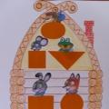 Дидактическая игра по математике для детей от 4 до 6 лет «Теремок»