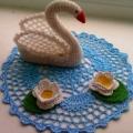 «Лебедь» Мастер-класс по вязанию крючком
