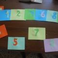Дидактическая игра по математике «Счет до 10»