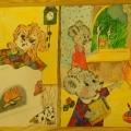 «Огонь— друг, огонь— враг!»— выставка с конкурса семейного рисунка!
