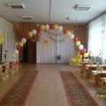 Оформление музыкального зала к выпускному празднику