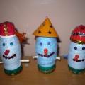 Веселые снеговики. Ручной труд в старшей группе.