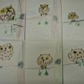 «Совушка-сова, большая голова»— рисование фломастерами во второй младшей группе