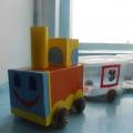Наш поезд с вагонами