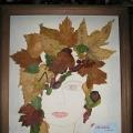 Аппликация из листьев «Матушка-природа»
