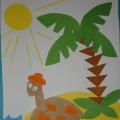 Художественное творчество детей старшей группы по теме Животные жарких стран.