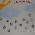 Оформление приемной в детском саду группы «Тамчыкай»