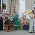 Информация по проведению в МБДОУ №4 «Весёлый ручеёк» празднования «Яблочного спаса»